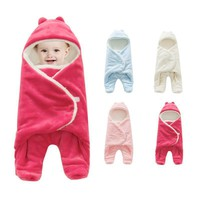 Baby Stroller Sleeping Bag Swaddle Cotton Blanket