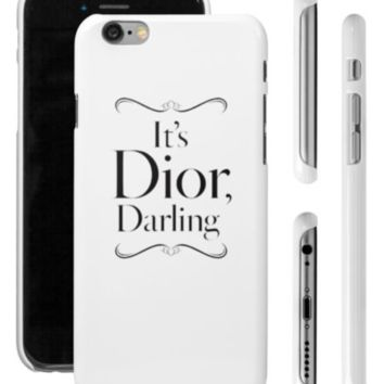 It's Dior Darling Iphone Case