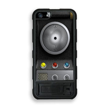 iPhone 5 5S Stand Case Protective iPhone 5 5S Case Star Trek Communicator