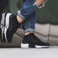 "W Air Presto Flyknit Ultra ""All Black"""