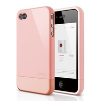 elago S4 Glide Case for AT&T, Sprint and Verizon iPhone 4/4S (Glossy Lovely Pink) - eco-friendly pa