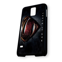 Awesome Superman Man Of Steel Samsung Galaxy S5 Case
