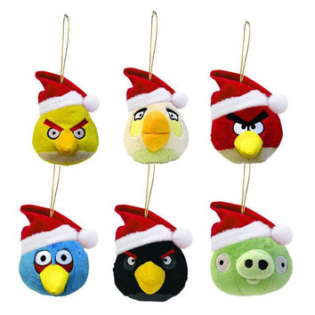 24 Christmas Ornaments - Angry Birds