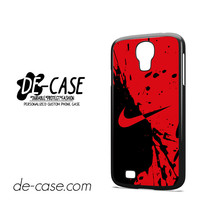 Nike Blood Red For Samsung Galaxy S4 Case Phone Case Gift Gift Present