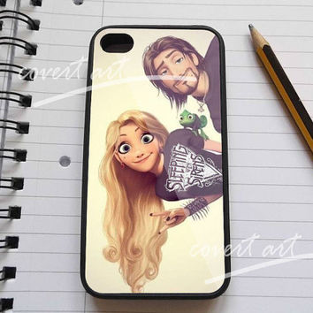 tangled rapunzel punk love Sleeping with Sirens for iPhone 4 / 4S / 5 /5c /5s Case Samsung Galaxy S3 / S4 Case