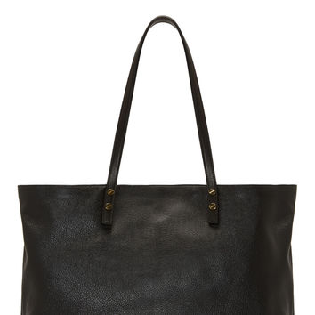 Chlo Black Leather Dylan Shopper Tote