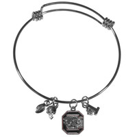 S. Carolina Gamecocks Charm Bangle Bracelet