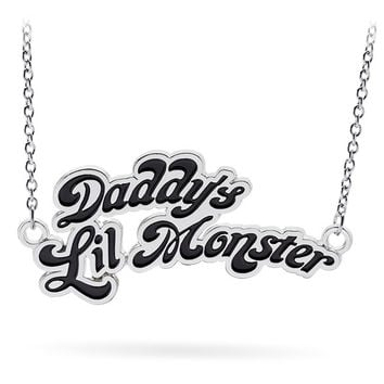 Daddy's Little Monster Necklace