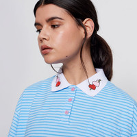 Lazy Oaf Shot Through the Heart Polo T-Shirt - Everything - Categories - Womens