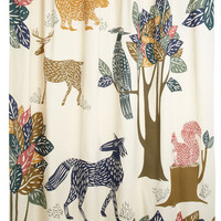Forest Act of the Day Shower Curtain | Mod Retro Vintage Bath | ModCloth.com