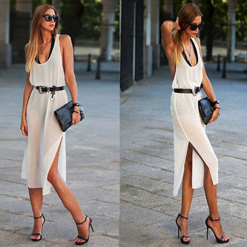 Fashion sexy woman summer dress