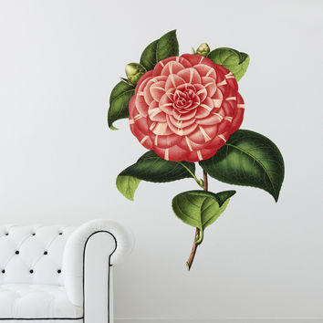 Gloria Flower Illustration Wall Decals