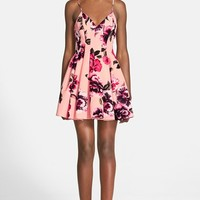Women's Keepsake the Label 'Star Crossed' Floral Print Fit & Flare Dress