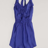 AEO Women's Draped Ruffle Dress