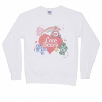 Women's Vintage Care Bears Lightweight Sweater