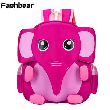 3-6T Elephant Pokemon Children Bag Cartable Enfant Kindergarten School Bag For Girls Waterproof Orthopedic Backpack For Boys