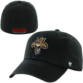 Florida Panthers Classic Franchise Fitted Hat – Black