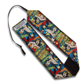 Wonder Woman Workout Wrist Wraps from Beastette Apparel