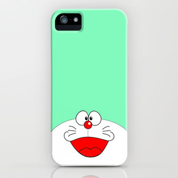 GREEN DORAEMON iPhone & iPod Case by Ylenia Pizzetti