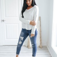 Welcome Retreat Top - Ivory
