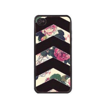 Floral Chevron Phone Case