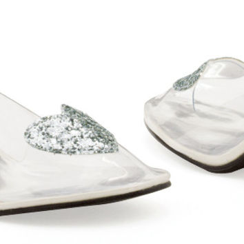 Ariel (Clear) Adult Shoes - 7