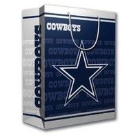 NFL Dallas Cowboys Gift Bag, Medium