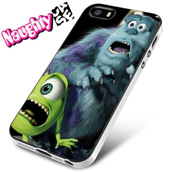 Monsters University Afraid iPhone 4s iphone 5 iphone 5s iphone 6 case, Samsung s3 samsung s4 samsung s5 note 3 note 4 case, iPod 4 5 Case