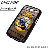 Real Madrid Wooden Case For Samsung Galaxy S3 Case