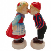 Danish Gift Salt and Pepper Shakers Standing