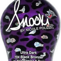 Snooki Ultra Dark 70X Black Bronzer Skin Firming Tanning Bed Lotion by Supre