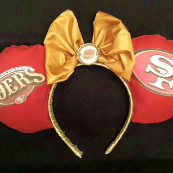 San Francisco 49ers Mouse Ears