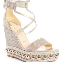 Christian Louboutin Cataclou Espadrille Wedge Sandal (Women) | Nordstrom