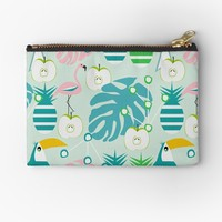 'Modern tropical summer vibes' Studio Pouch by cocodes