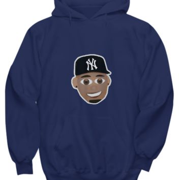 NYC Bomber Outfielder Pinstripes Giancarlo Stanton Sweater Hoodie