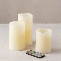 Flameless Color Candle Set
