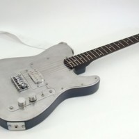 Aluminium Telecaster Electric Guitar by KingAnkylosaurus on Etsy