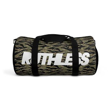 Tiger Stripe Duffle Bag