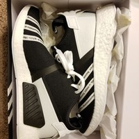 White Mountaineering NMD_R2 Primeknit Shoes Size 11 CG3648