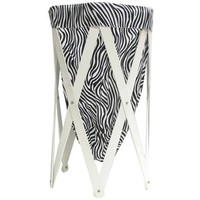 Black & White Zebra Print Foldable Laundry Hamper | Shop Hobby Lobby