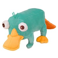 "Disney Phineas and Ferb 8"" Perry Plush"