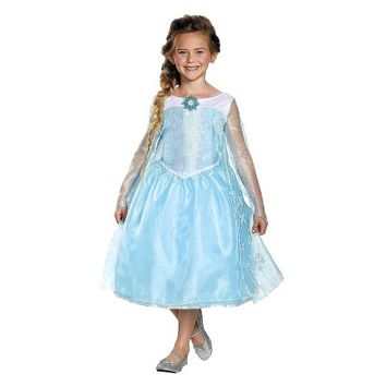 Girl's Frozen Elsa Sequin Deluxe Costume - Target Exclusive