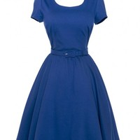 Katie Dress in Royal Blue