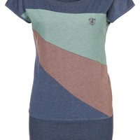 Naketano HERBERT IV - Basic T-shirt - blue - Zalando.co.uk