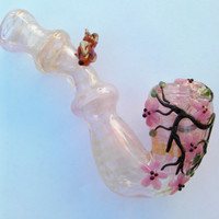Glass pipe    Sitting in the Cherry tree