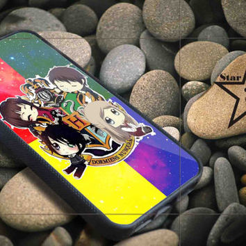 Harry Potter Hogwarts School vector iPhone Case, iPhone 4/4S, 5/5S, 5c, Samsung S3, S4 Case, Hard Plastic and Rubber Case By Dsign Star 08