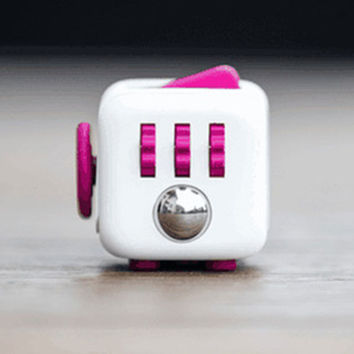 Stress Relief and Focusing Fidget Cube Gadget for ADHD Kids, Adults - Free Shipping