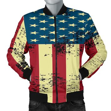 NP American Flag Bomber Jacket