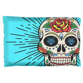 Sugar Skull Pillow Case