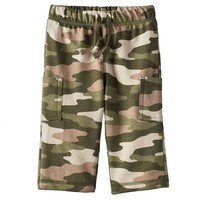 Jumping Beans Camo French Terry Cargo Pants - Baby Boy, Size: